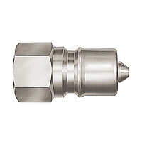 SP-V Coupler, Stainless Steel, HNBR Plug