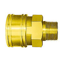 TSP Coupler, Brass, FKM TSM-Type