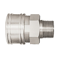 TSP Coupler, Stainless Steel, FKM TSM Type