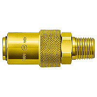 Mold Coupler, Brass, NBR SM