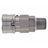 High Coupler BL, Stainless Steel, SM Type