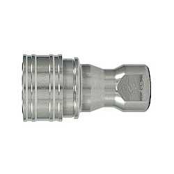 SP Coupler TypeA, Stainless Steel, NBR, Socket, Female Threading