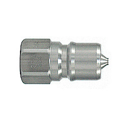 SP Coupler Type A, Stainless Steel, NBR Plug, Female Thread