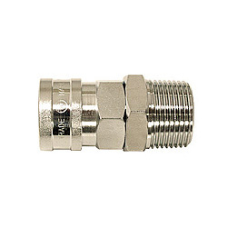 High Coupler, Large-Bore, Stainless Steel, NBR SM