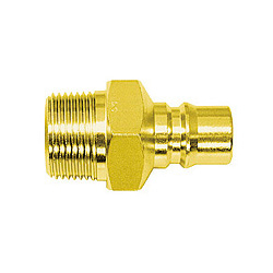 High Coupler, Large-Bore, Brass, PM