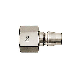 High Coupler, Small-Bore, Stainless Steel, PF
