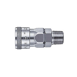 High Coupler, Small-Bore, Steel, NBR SM