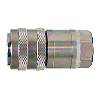 Flat Face Coupler FF-Type, Steel NBR Socket