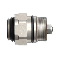 Multi Coupler, MALC-SP, Stainless Steel, Screw-In for Medium Pressure, Socket