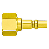 Mini Coupler, Brass, for Fuel Gas, PF