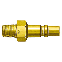 Mini Coupler, Brass, for Oxygen, PMT