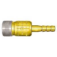 Mini Coupler, Brass, for Fuel Gas, SH