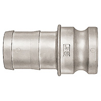 Lever Lock Coupler, Stainless Steel, L-E Type