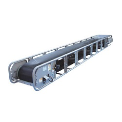 Modular Belt Conveyor Boat Bottom 2 Point Carrier Type