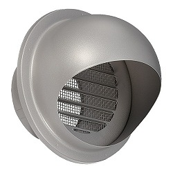 Outdoor Ventilation Opening, Stainless Steel, With/Without Fireproof Damper, KS-8BSH00B10 To 84SH00BD110