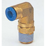 PushOne E Series Brass Body Type - 90 Degree Elbow
