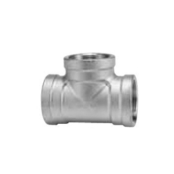 Stainless Steel Screw-in Tube Fitting Tee