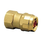 Double Lock Joint, WJ2 Type, Tapered Female Screw, Made of Brass