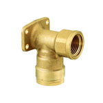 Double Lock Joint, WL5 Type, Shoulder Seat Water Faucet Elbow, Made of Brass