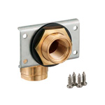 Double Lock Joint, WL11 Type, UB Wall Wall-Penetrating Fitting, Bronze