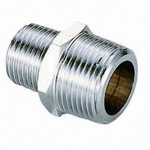 Metal Pipe Fitting, Variable Diameter Nipple, Dual Tapering