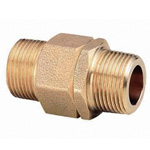 Metal Piping Fitting, Rotation Nipple, Tapered Male Screw