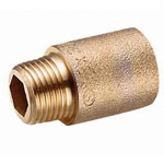 Metal Type Fitting, Removable Socket, Bronze