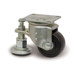 Small Casters for Heavy Loads, Adjuster, Includes L-JW Metal Fittings (L-N/JW)