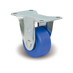 Small Casters for Heavy Loads, with Fixed KW Fittings MCB/KW