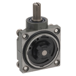 Head for small heavy equipment limit switch D4A-N