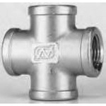Stainless Steel Screw-in Type Fitting Cross X