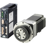 Stepping motor, αSTEP, highly efficient, AR series, AC power input, PF geared type