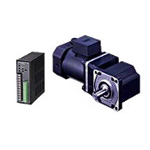 BHF Series 200 W Type Drive Unit Orthogonal-axis, Solid/Hollow Shaft Gearhead (combination type)