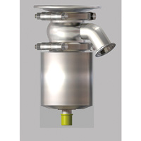 Single Action Air-Drive, Flange Separated Tank Valve