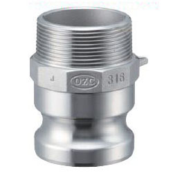 Stainless Steel Lever Coupling - Male Screw Type Adapter OZ-F