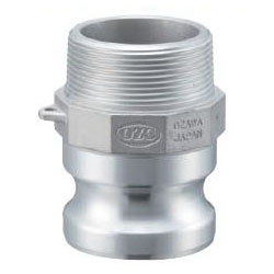 Aluminum Lever Coupling - Male Screw Type Adapter OZ-F