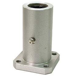 Flanged linear bushing housingLFWK-OH shapedoublerectangular flangealuminum casewith lubricating hole