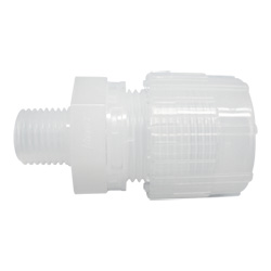 Super 300 type pillar fittingmale connector