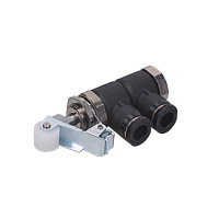 Mechanical Switching Valves Mechanical Valve Panel Mount Type Roller