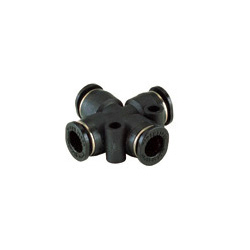 Tube Fitting Mini Type for Standard Pipe, Cross A