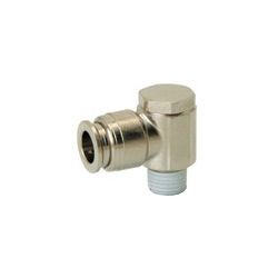 for Sputtering Resistance, Tube Fitting Brass, Universal Elbow, Coverless