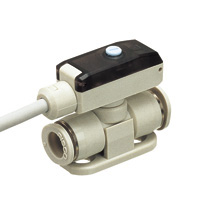 Small pressure sensor for positive pressure union type sensor head