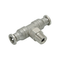 for Corrosion Resistance, SUS316 Fitting, Tee