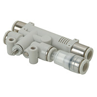 Single-Type Vacuum Breaker Function Centralized Exhaust Vacuum Filtered