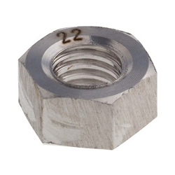 Rare Metal Screw (RMS) Alloy22 (Hastelloy C22) Hexagon Nut