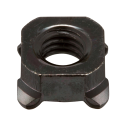Square Weld Nut (Welded Nut) without Pilot, Protruding Type (1D Type)
