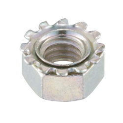 Toothed Washer Nut FNTLTW-ST3W-M5