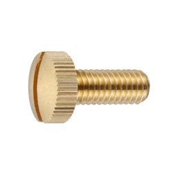 ECO-BS Slotted Knurled Screw CSMKNE-BR-M4-10