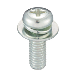 Phillips Pan Head Screw SP-3 (Spac+JIS Flat W)