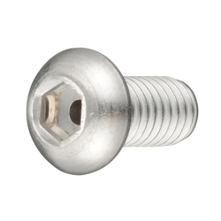 Hex Socket Button Head Bolt with Through-Hole, Fully Threaded